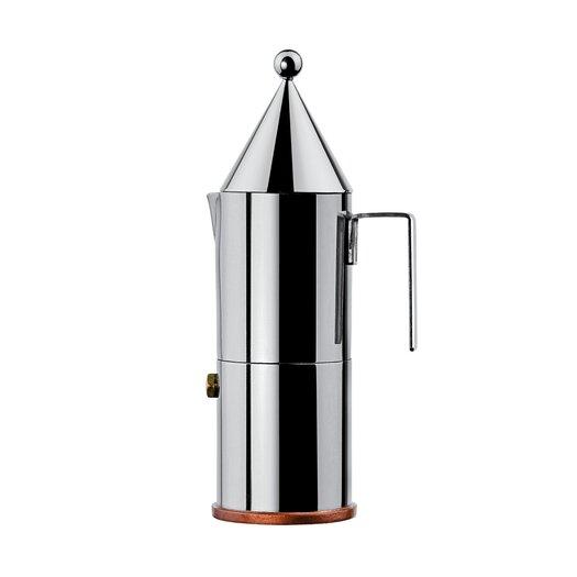La Conica Espresso / Coffee Maker in Mirror Polished by Aldo Rossi
