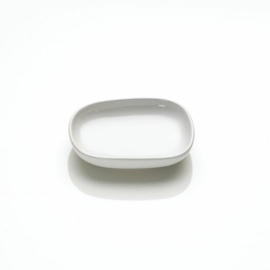 """Alessi Ovale 3.5"""" Small Plate for Soy Sauce by Ronan and Erwan Bouroullec"""