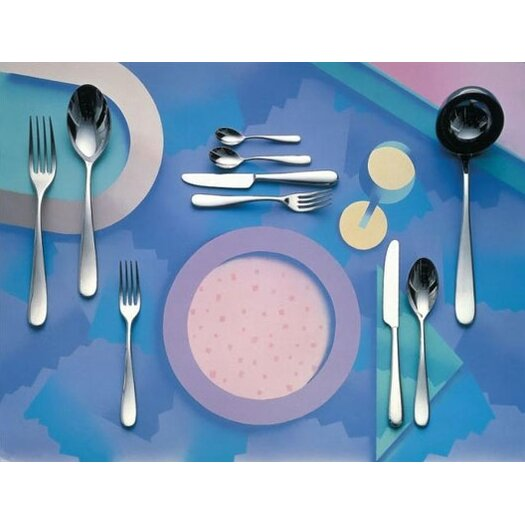 Alessi Nuovo Milano Dinner Fork by Ettore Sottsass