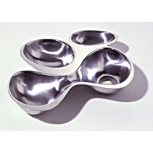 Alessi Ron Arad - Bar and Serveware Babyboop 4 Section Container Divided Serving Dish