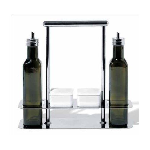 Alessi Andrea Branzi 87.5 oz. Trattore Set for Olive Oils