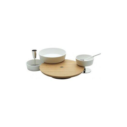 Alessi Ape Aperitif 3 Piece Platter Set