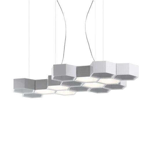 Luceplan Honeycomb 6 Light Suspension Lamp