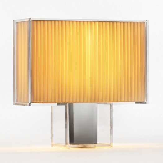 "Kartell Tati 18.1"" H Table Lamp with Rectangle Shade"