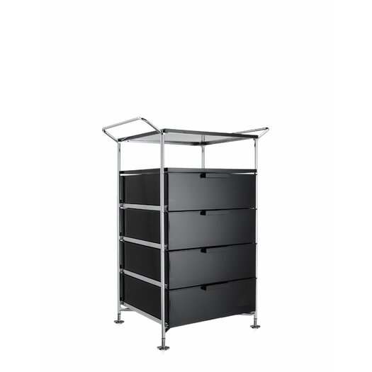 "Kartell Mobil 26.38"" Open Shelf Storage Container"