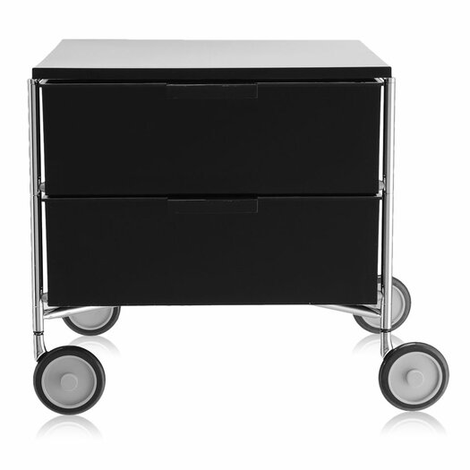 "Kartell Mobil 19.25"" Storage Container with 2 Drawers"