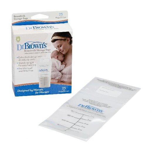 Dr. Brown's Simplisse Breast Milk Storage Bags - 25ct