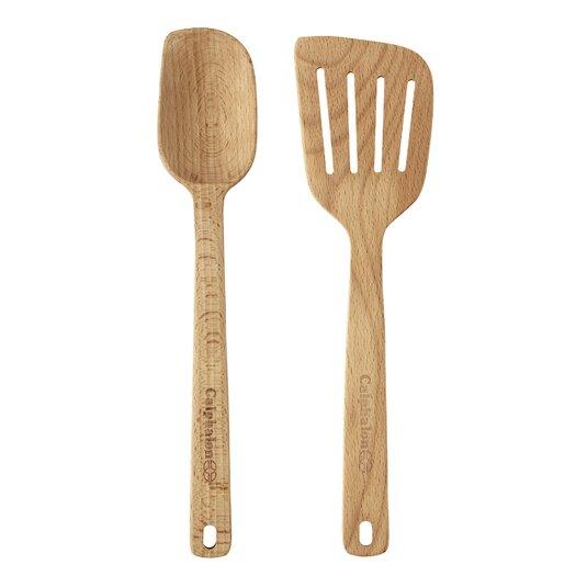 Calphalon Wooden Utensils 2-Piece Utensil Set