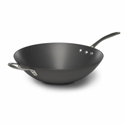 "Calphalon Commercial Hard Anodized 12"" Stir Fry Pan"