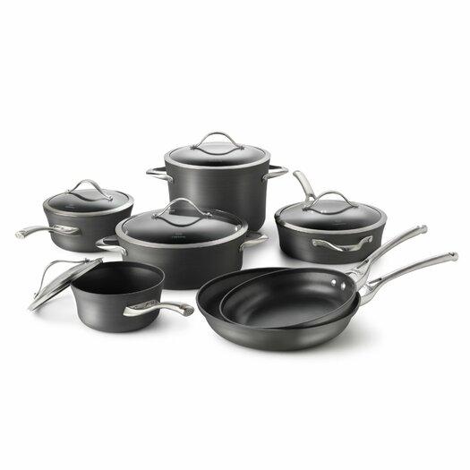 Calphalon Contemporary Nonstick 12-Piece Cookware Set