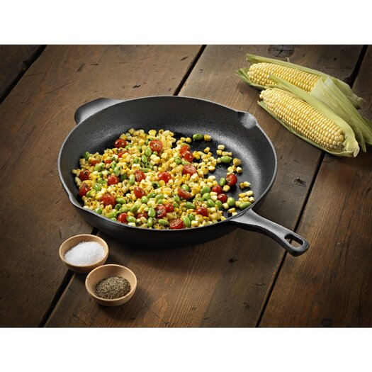 "Calphalon Pre-Seasoned Cast Iron 12"" Nonstick Frying Pan"