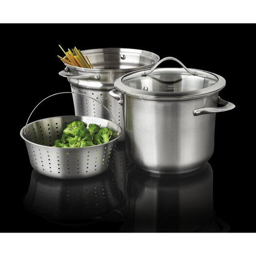 Calphalon Contemporary Stainless Steel 8-qt. Multi-Pot with Lid
