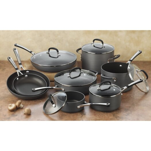 Calphalon Simply Nonstick 14 Piece Cookware Set
