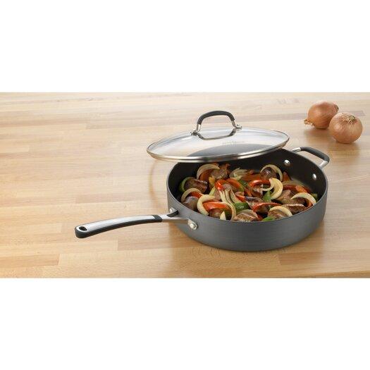 Calphalon Simply Nonstick 5-qt. Saute Pan with Lid