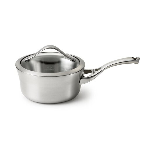 Calphalon Contemporary Stainless Steel Saucepan with Lid