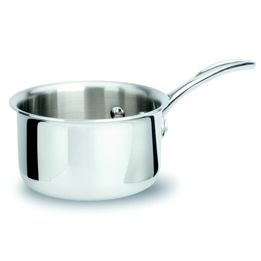 Calphalon Tri-Ply Stainless Steel 1-qt. Saucepan