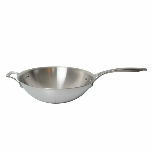 "Calphalon AcCuCore 12"" Flat Bottom Wok"