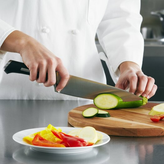"""Calphalon Calphalon Precision Cutlery 8"""" Chef's Knife in Stainless Steel"""