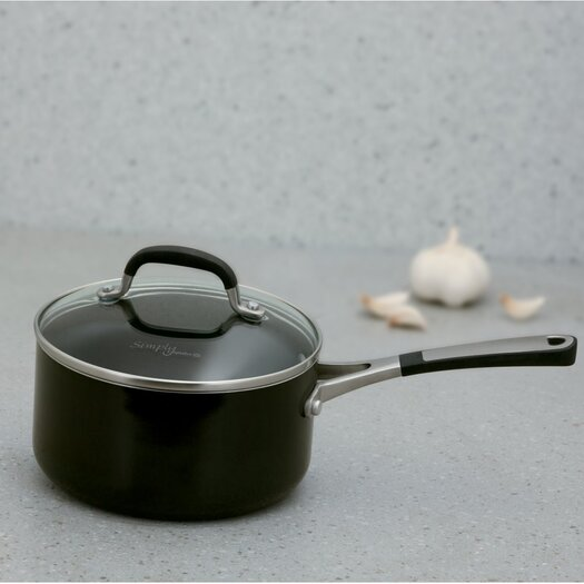 Calphalon Simply Enamel 2-qt. Saucepan with Lid