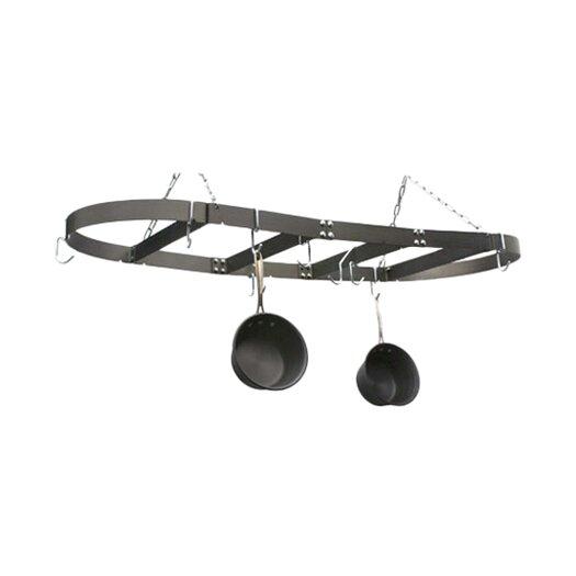 """Calphalon Oval 18"""" x 36"""" Hanging Pot Rack"""