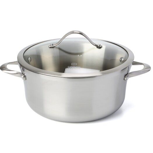 Calphalon Contemporary Stainless Steel 6.5-qt. Stock Pot with Lid