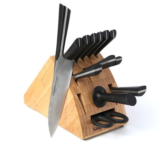 Calphalon Katana Series Cutlery 14 Piece Knife Block Set
