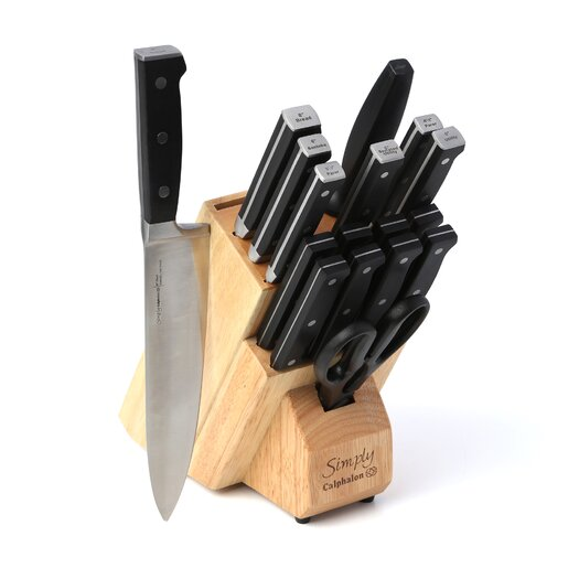 Calphalon Simply Forged Cultery 18 Piece Knife Block Set