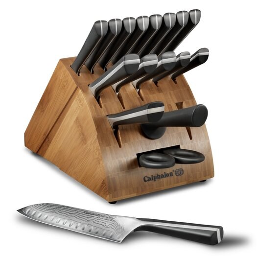 Calphalon Katana Series Cutlery18 Piece Knife Block Set