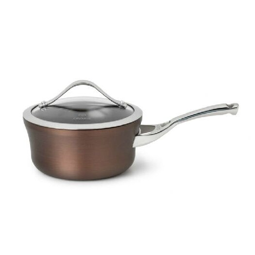 Calphalon Contemporary Bronze Anodized Saucepan with Lid