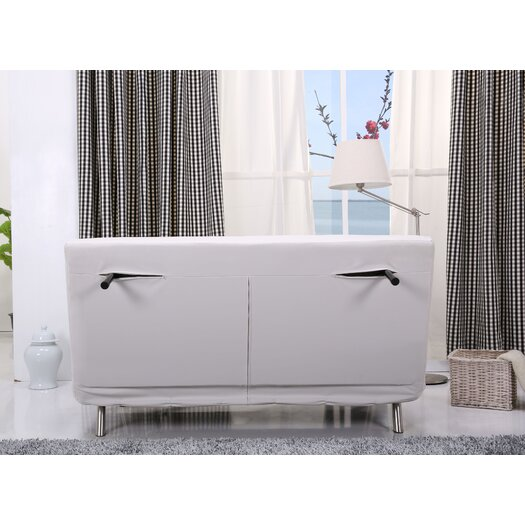 Gold Sparrow Tampa Convertible Loveseat