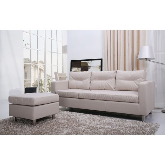 Gold Sparrow Detroit Convertible Sectional