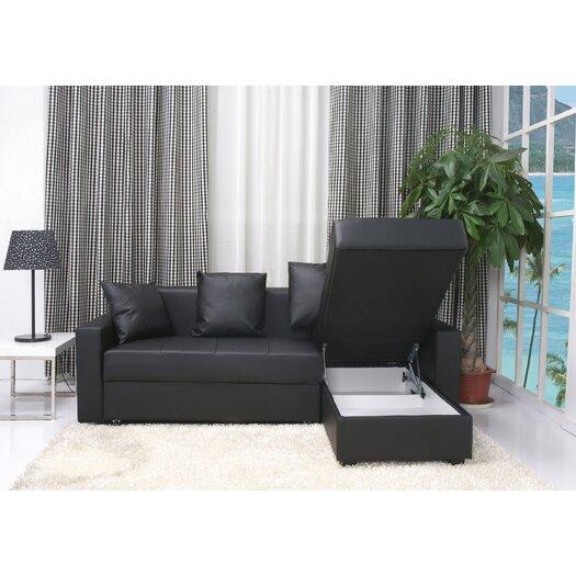 Gold Sparrow San Jose Convertible Sofa