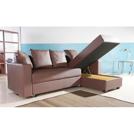 Gold Sparrow San Jose Convertible Sofa