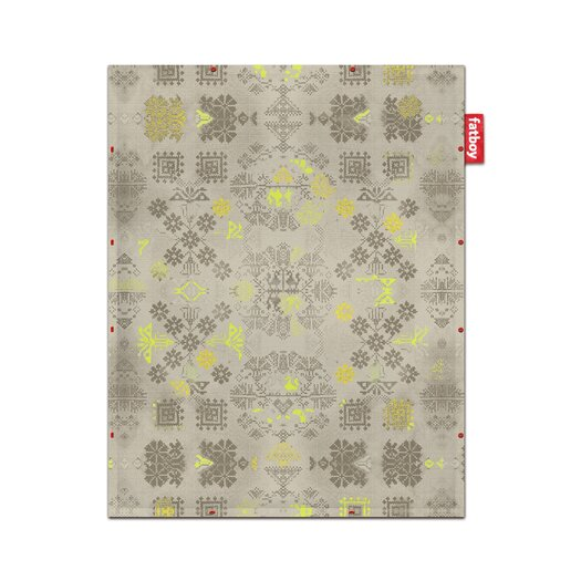 Fatboy Non-Flying Carpet Yellow Area Rug