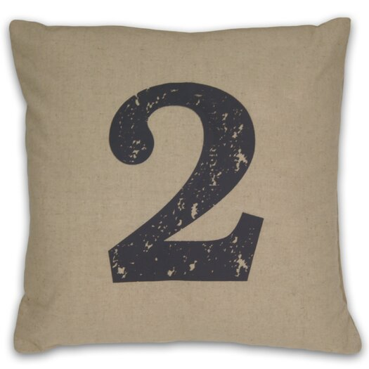 DR International Numeral 2 Pillow