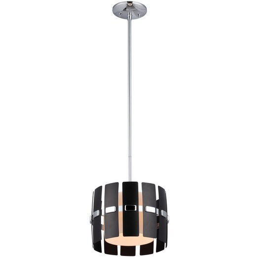 DVI Luna 1 Light Mini Drum Pendant