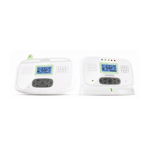 Levana Digital Video Baby Monitor with Talk-To-Baby Intercom and Temperature Sensor
