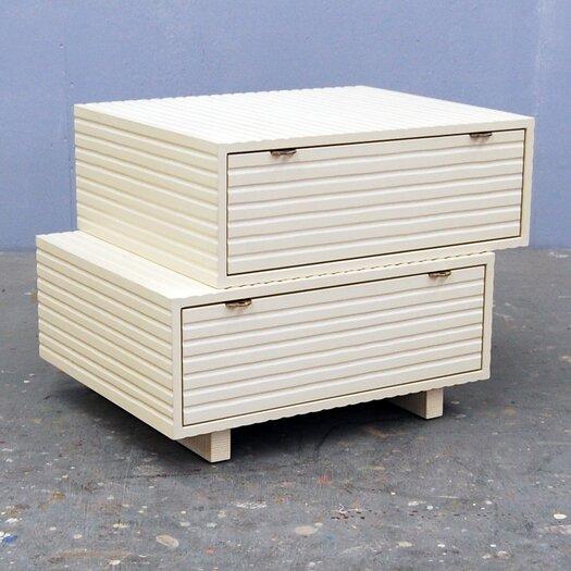 Stacking 2 Drawer Dresser