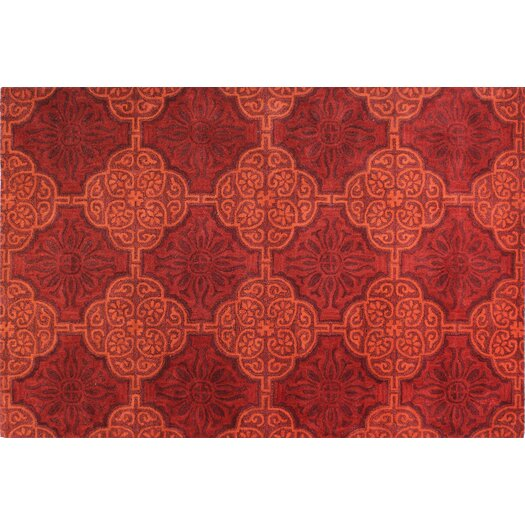 Bashian Rugs Ashland Red Area Rug
