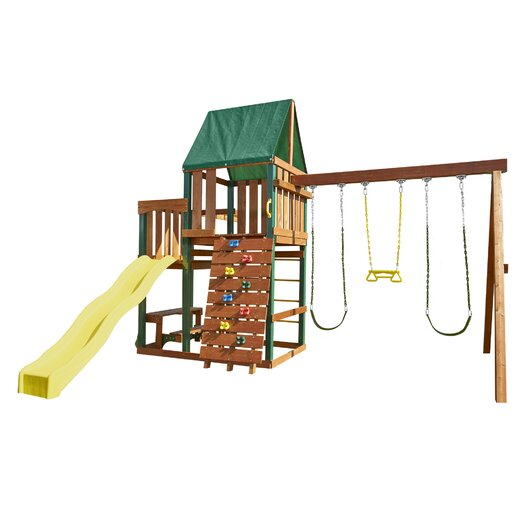 Swing-n-Slide Chesapeake Wood Complete Swing Set