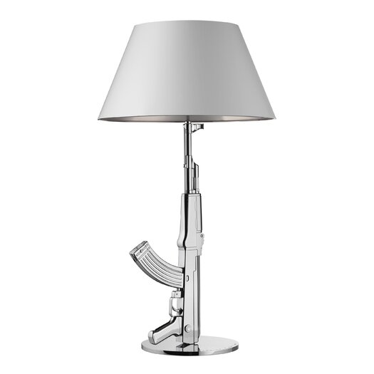 FLOS Gun Table Lamp with Empire Shade
