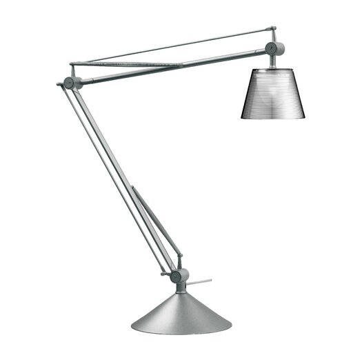 "FLOS Archimoon K 22.2"" H Table Lamp with Empire Shade"