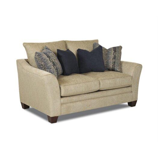 Klaussner Furniture Posen Loveseat