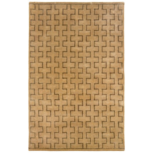 LR Resources Majestic Natural Area Rug