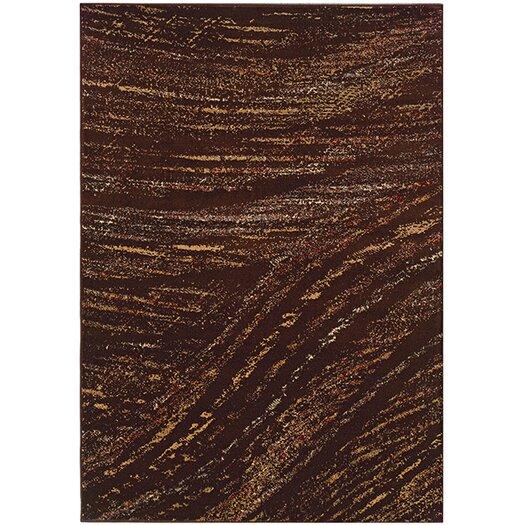 LR Resources Adana Brown/Light Brown Area Rug
