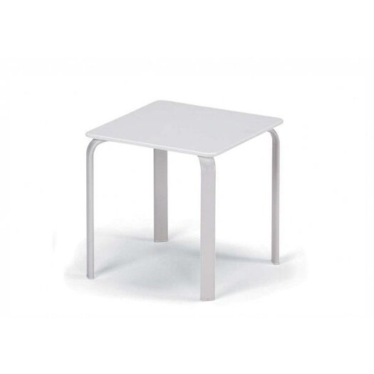 Telescope Casual 18'' Square Marine Grade Polymer End Table