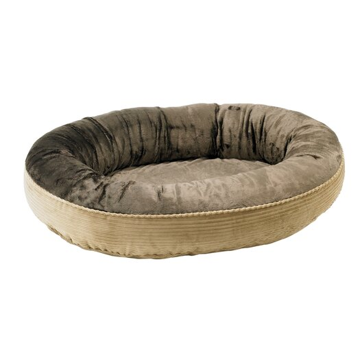 Bowsers Plush Orbit Donut Dog Bed