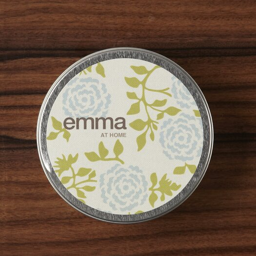 emma at home by Emma Gardner Bergamot Wallflower Travel Jar Candle