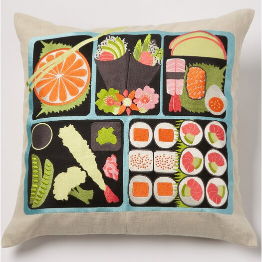 emma at home by Emma Gardner Bento Linen Pillow