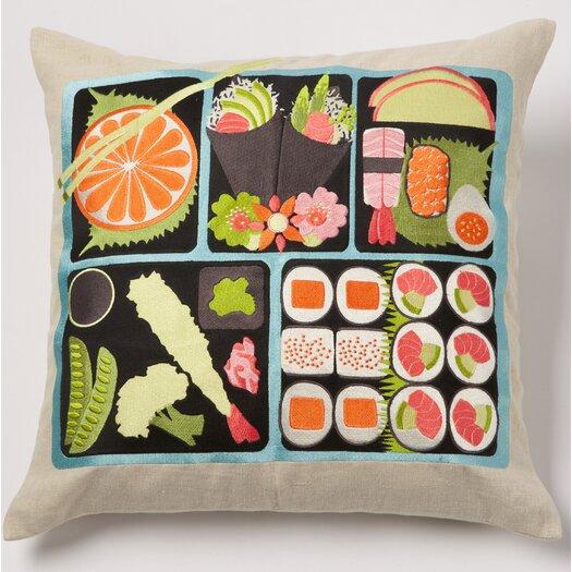 emma at home by Emma Gardner Bento Linen Pillow